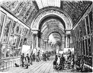A Gallery in the Louvre