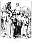 Joseph sold to the Ishmaelites