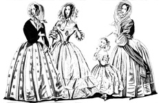 Fashions for April 1841