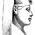 Bust of Thothmes I, the first great Egyptian Conqueror