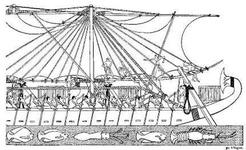Egyptian Ships in the time of Hatasu