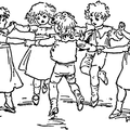 A ring of children