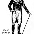 Men's street costume Late Revolution and early Empire