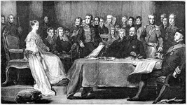 The Queens first council - Kensington Palace June 20 1837