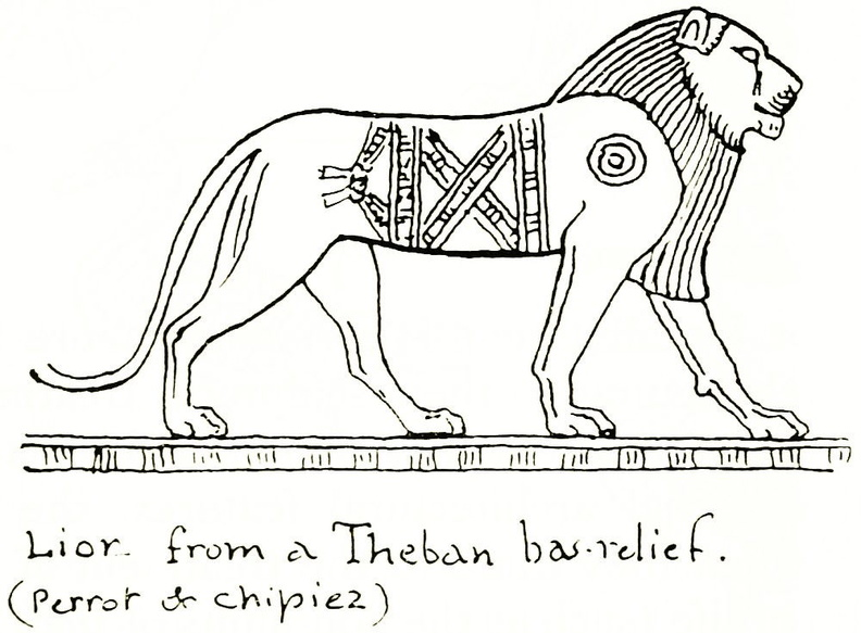 Lion from a Theban bas-relief.jpg
