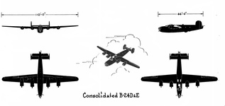 Consolidated B-24 D & E