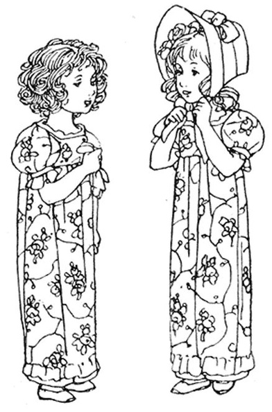 Two young girls dressed the same.jpg