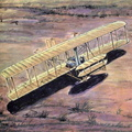 Wright Brothers first powered airplane