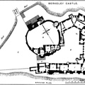 Berkeley Castle, Plan