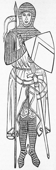 Anglo-Norman knight, after a tomb from 1277.jpg
