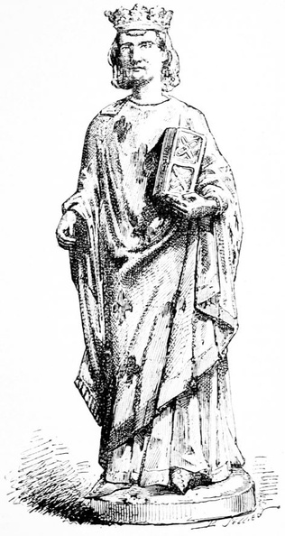 Saint Louis, after a wooden statuette from the Cluny museum.jpg