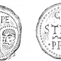 Seal of Celestin III, like the apostles