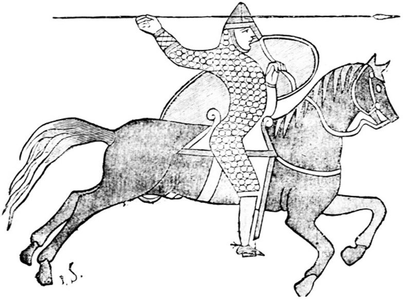 An 11th century knight, after the Bayeux tapestry.jpg