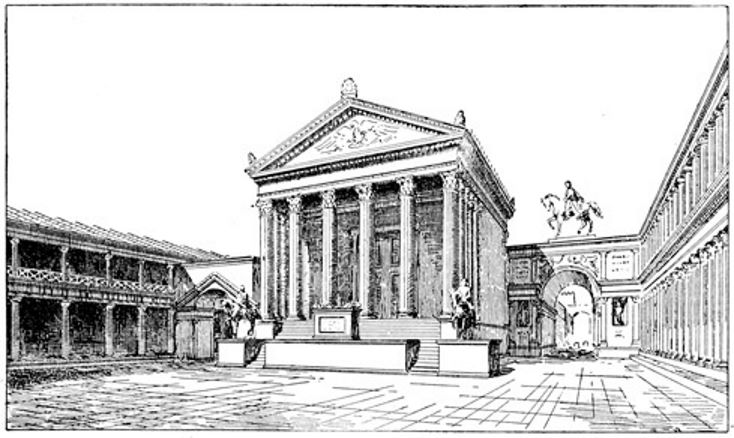North end of the Forum, with the Temple of Jupiter.jpg